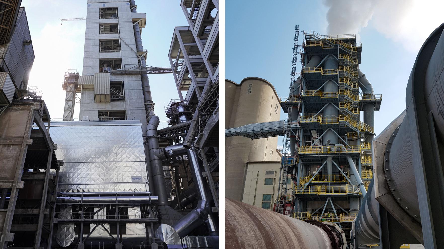 DeCONOx-Anlage in Gartenau  und Kalzinator in Retznei